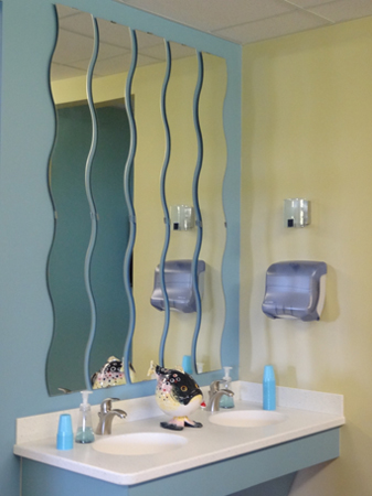 tooth brushing station - Pediatric Dentist in Orlando, FL