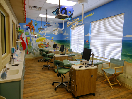 More open bay - Pediatric Dentist in Orlando, FL